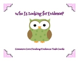 Common Core Evidence Task Cards