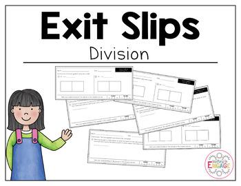 Common Core Exit Slips: Division