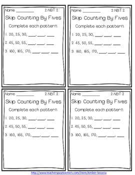 Common Core Exit Slips/Quick Checks for 2nd Grade Numbers in Base Ten