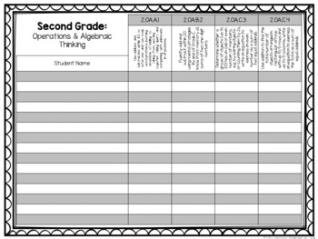 Common Core Exit Tickets: Second Grade Operations & Algebraic Thinking