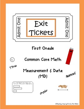 Common Core Exit Tickets Slips 1st Grade Math MD Quick Assessments