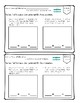 Common Core Exit Tickets Slips 1st Grade Math O.A. Quick Assessments