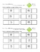 Common Core Exit Tickets/Slips First Grade Math NBT Quick Assessment