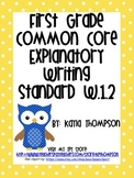 Common Core Explanatory Writing Standards