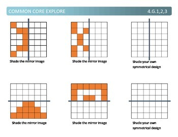 Common Core Explore 4.g Mastering Geometry