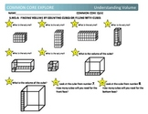 Common Core Explore Grade 5 Understanding Volume