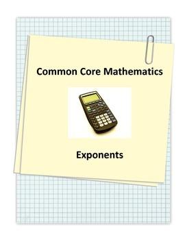 Common Core Exponents