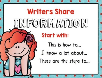 Common Core Expository-Informational-How to Writing for the Whole Year!
