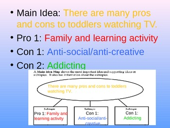 Common Core - Expository / Informational Writing Thesis Powerpoint