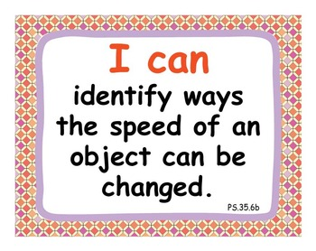 "Common Core Extended Standards ""I CAN"" Statements 3-5 Science Special Education"