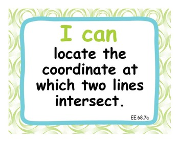 """Common Core Extended Standards """"I CAN"""" Statements 6-8 Math Special Education"""