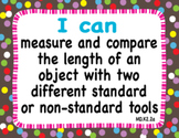 """2012 C Core Extended Standards """"I CAN"""" Statements K-2 Math for Special Education"""