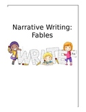 Common Core Fable Reading and Writing Unit