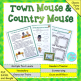 """Fables, Folktales, and Fairy Tales:  """"The Town Mouse and the Country Mouse"""""""