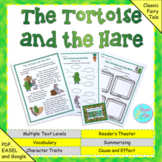 """Aesop's Fable: """"The Tortoise and the Hare"""" (Google Slides,"""