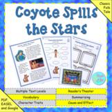 """Folktale: """"Coyote Spills the Stars"""" (Google Slides, TpT Di"""