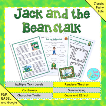 "Fables, Folktales, and Fairy Tales:  ""Jack and the Beanstalk"" Close Read"