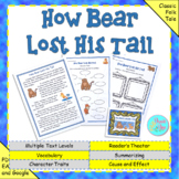 "Folktale:  ""How Bear Lost His Tail"" (Google Slides, TpT Di"