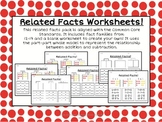Common Core Fact Families Worksheets