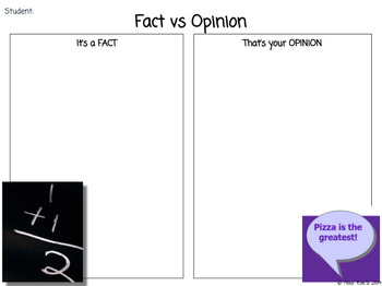 Common Core Fact and Opinion Lesson Unit Plans