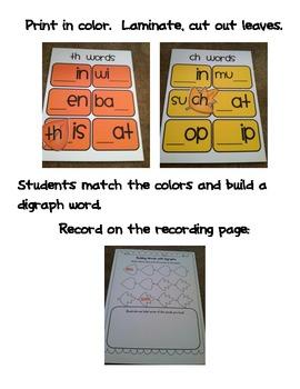 Common Core Fall Literacy 1st Grade
