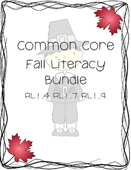 Common Core Fall Literacy Bundle