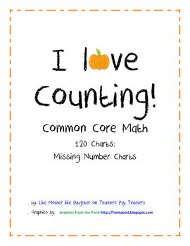 Common-Core Aligned Hundreds (120) Charts