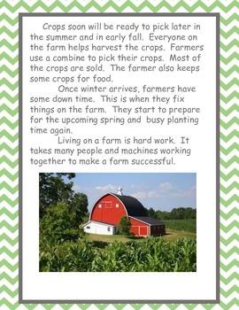 Common Core Farm Language Arts Unit