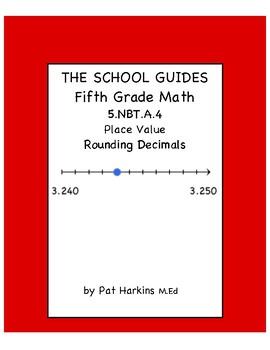 Common Core Fifth Grade Rounding Decimals 5.NBT.A.4