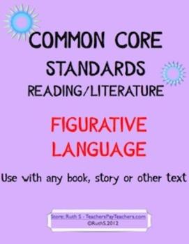 Common Core Figurative Language