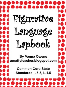 Common Core Figurative Language Lapbook