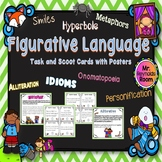 Figurative Language Task Cards with Posters