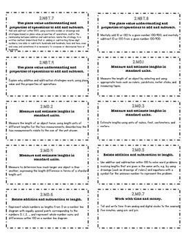 Common Core File Folder Labels (2nd Grade -- Math & ELA)
