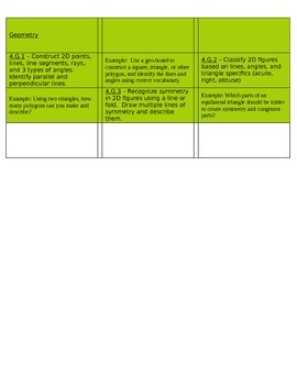 Common Core Filing Labels for Mathematics