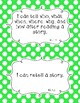 Common Core First Grade I Can Statements-ELA & Math-Polka