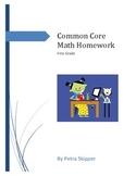 Common Core First Grade Math Homework