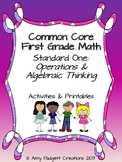 Common Core First Grade Math: Standard One (Operations and Algebraic Thinking)