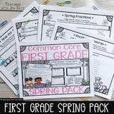 First Grade Spring Sub Plans