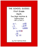 Common Core First Grade Two Digit Addition and Subtraction 1.NBT.C.4, 1.NBT.C.6