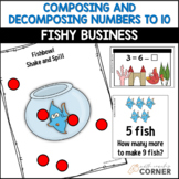 Common Core: Fishy Business, Composing and Decomposing Numbers to 10