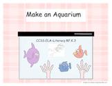 Fishy Fun: Make A Sea Life Aquarium- Common Core
