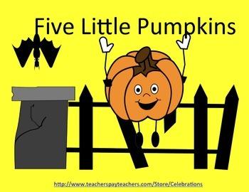 Common Core Five Little Pumpkins