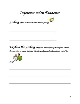 6 Core Fluency/ Comprehension- Inferencing Fiction and Nonfiction Lessons
