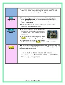 Common Core Focus  Identifying Key Details & Summarizing Text