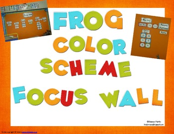 Common Core Focus Wall (I Statements)