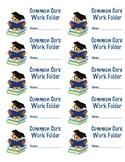 Common Core Folder Labels