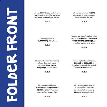 ELA Standards Labels 5