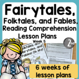 Fairytales, Folktales, and Fables: Close Reading Lesson Plans (Digital Option)