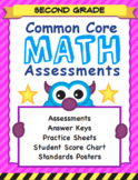 Common Core Formative Assessments - 2nd Grade