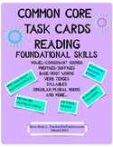 Foundational Skills Task Cards {Common Core Supplement}